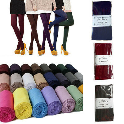 120D Women's Tights Fashion Slim Velvet Tights High Elastic Stockings&Pantyhose