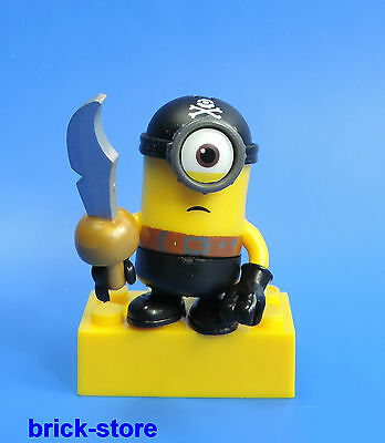 MEGA BLOCKS MINIONS SERIES 3 / FIGURINE (No. 5) PIRATE MINION