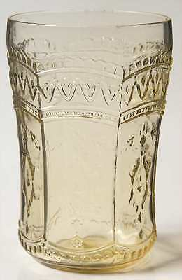 Federal Glass Company PATRICIAN AMBER 9 Oz Tumbler 1753448