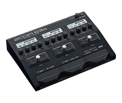 Zoom G3N Guitar Multi-Effects and USB Interface Pedal (NEW)
