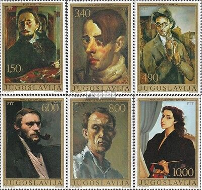 Yugoslavia 1708-1713 (complete issue) unmounted mint / never hinged 1977 Self