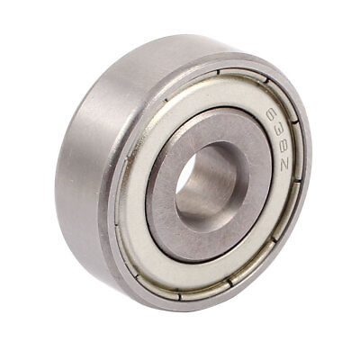 Metal Shielded Sealed Low Speed Deep Groove Ball Bearing 8mmx28mmx9mm