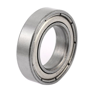 Metal Shielded Sealed Low Speed Deep Groove Ball Bearing 17mmx30mmx7mm