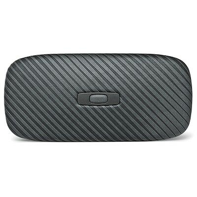 New Oakley Square O Hard Large Travel Protective Sunglasses Holder Case Graphite