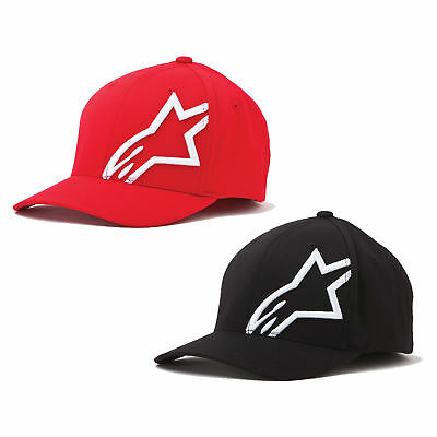 New Alpinestars Motorcycle Bike Shift Embroidered Corporate Hat Cap Size S-XL