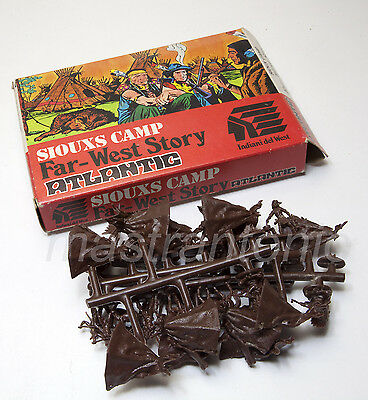 ATLANTIC HO 1/72 West 1112 SIOUX camp indiani tende accampamento sprue