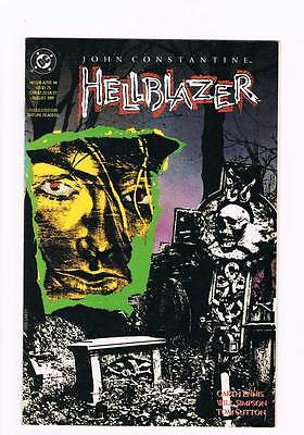 Hellblazer # 44 Dangerous Habits Part IV of IV ! grade - 8.5 scarce book !!