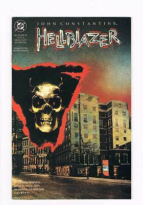 Hellblazer # 46 Dangerous Habits - Falling Into Hell ! grade - 8.5 scarce book !