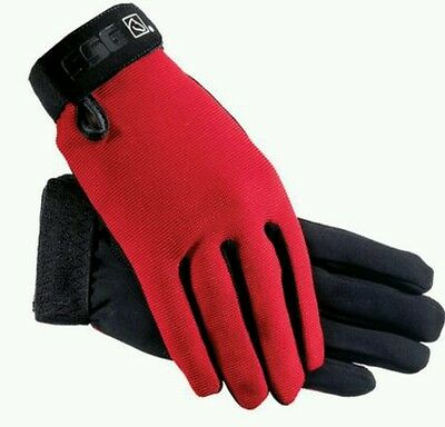 ssg All weather red  riding gloves