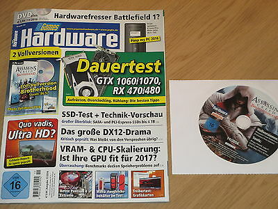 Pc Games Hardware 11/2016 Mit 2 Vollversionen: Assassins Creed Brotherhood - Nov