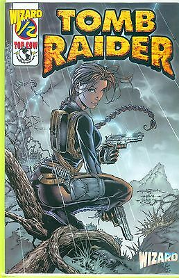 2000 TOP COW Tomb Raider THE SERIES #1/2 WIZARD EXCLUSIVE w/ COA