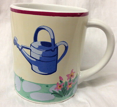 Essex Collection Portugal Susan Sittler Garden Party Mug  Watering Can Topiary