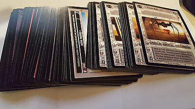 DECIPHER  STAR WARS CCG JABBAS PALACE COMPLETE SET OF 180 cards MINT/NR MINT