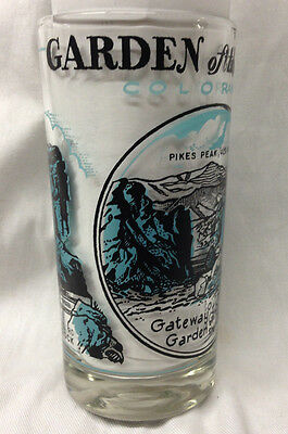 Garden Of The Gods Colorado Drinking Glass Tumbler Pike's Peak Three Graces