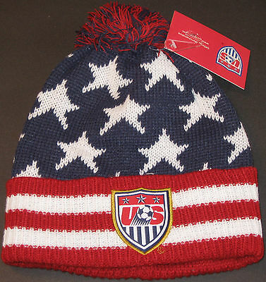 United States Men's National Soccer Team Winter Beanie Hat USA NEW Dempsey