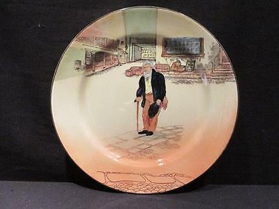 """Old Peggoty Royal Doulton Vintage Dickens Ware 10 1/2"""" Plate #D5175"""
