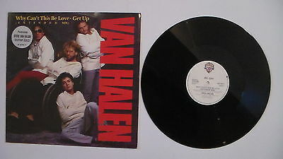 """VAN HALEN why cant this be love 12"""" extended can`t"""