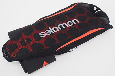 NEW! Salomon Flexcell Junior Black/Red Freeskier Back Protector