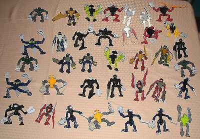 lot 36 BIONICLE action figures from lego mcdonalds