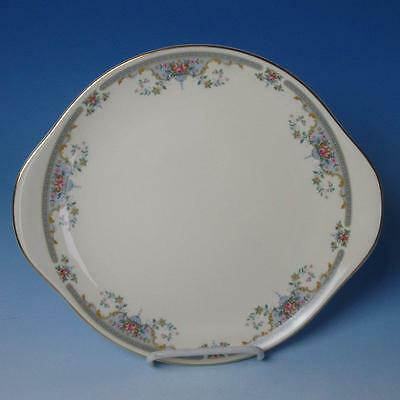 Royal Doulton China - Juliet H5077 - Round Handled Cake Plate