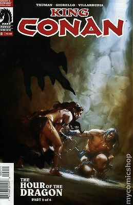 King Conan Hour of the Dragon (2013 Dark Horse) #2 FN