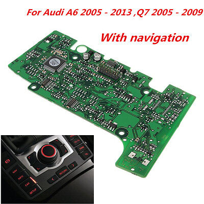 E380 Multimedia Circuit Board Control Panel With Navigation For Audi A6 A6L Q7