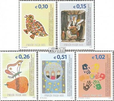kosovo (UN-Administration) 11-15 mint never hinged mnh 2002 Peace in kosovo