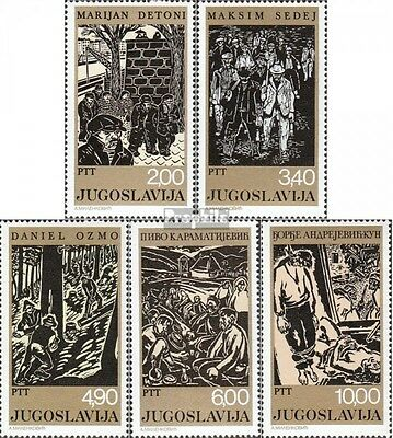 Yugoslavia 1758-1762 (complete issue) unmounted mint / never hinged 1978 Social
