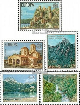 Yugoslavia 1725-1726,1740,1741-1742 (complete issue) unmounted mint / never hing
