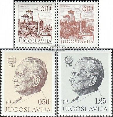 Yugoslavia 1465I-1465,1466-1467 (complete issue) unmounted mint / never hinged 1