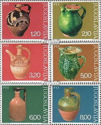 Yugoslavia 1649-1654 (complete issue) unmounted mint / never hinged 1976 Museum