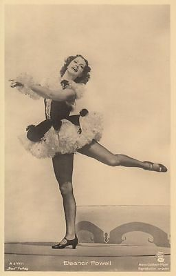 ELEANOR POWELL - alte, unsignierte Ross-AK