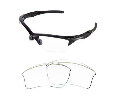 New Replacement Clear Xl Lens For Oakley Half Jacket 2.0 Sunglasses
