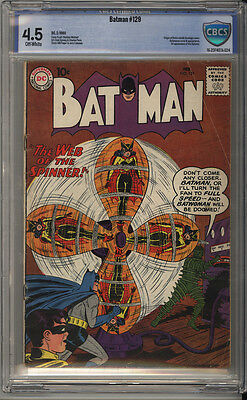 Batman # 129  Origin Robin ; Batwoman cover !  CBCS 4.5 scarce book !