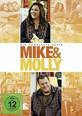 17 DVD-Box ° Mike & Molly ° Staffel 1 - 6 komplette Serie ° NEU & OVP