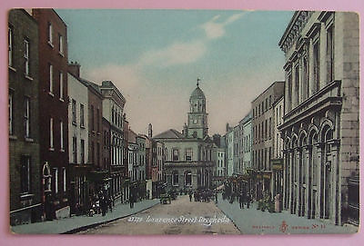 Postcard c.1910 LAWRENCE STREET DROGHEDA Co.LOUTH IRELAND
