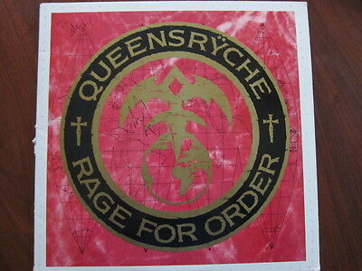 QUEENSRYCHE Rage for Order  lp AUTOGRAPHED