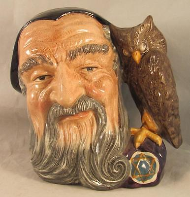Royal Doulton Large Character Jug Merlin D6529