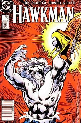 Hawkman (1986 2nd Series) #5 VG LOW GRADE