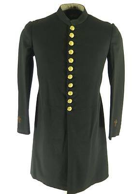 Vintage 20s Masonic Cassock Mens 34 Browning King Wool 1927 York Rite Frock Coat