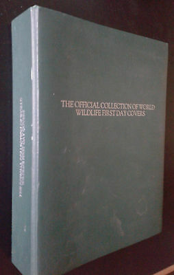The Official Collection of World Wildlife First Day Covers BOOK Stamps Stamp Col