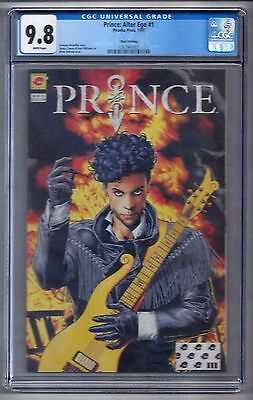 Prince: Alter Ego #1 (1991) CGC 9.8 White Pages  3rd Print  McDuffie - Bolland