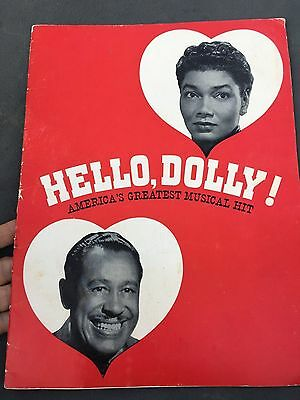 "Vintage ""Hello, Dolly"" America's Greatest Musical Hit Program"