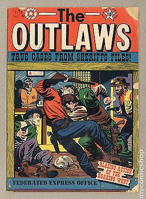 Outlaws, The (1952 Star) #10 FR 1.0 LOW GRADE
