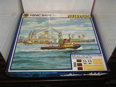 Triang Minc Ships 1.200 Scale Die Cast Hornby Quayside Set M905