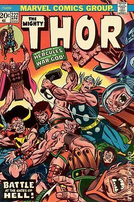 Thor (1962-1996 1st Series Journey Into Mystery) #222 VG+ 4.5 LOW GRADE
