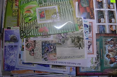 Over 450 Stamps From Africa