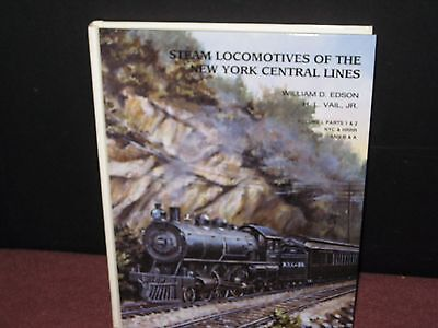 Steam Engines of the New York Central Lines. W D Edson & H L Vail HC  1997(CH)
