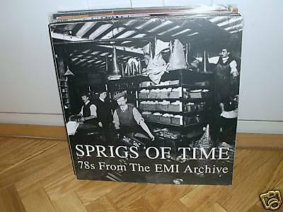 V/A - Sprigs Of Time//78s From The EMI Archive - 2 LP Vinyl