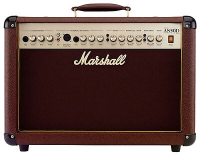 MARSHALL AS-50 D Akustik Combo 50W/2x8Zoll
